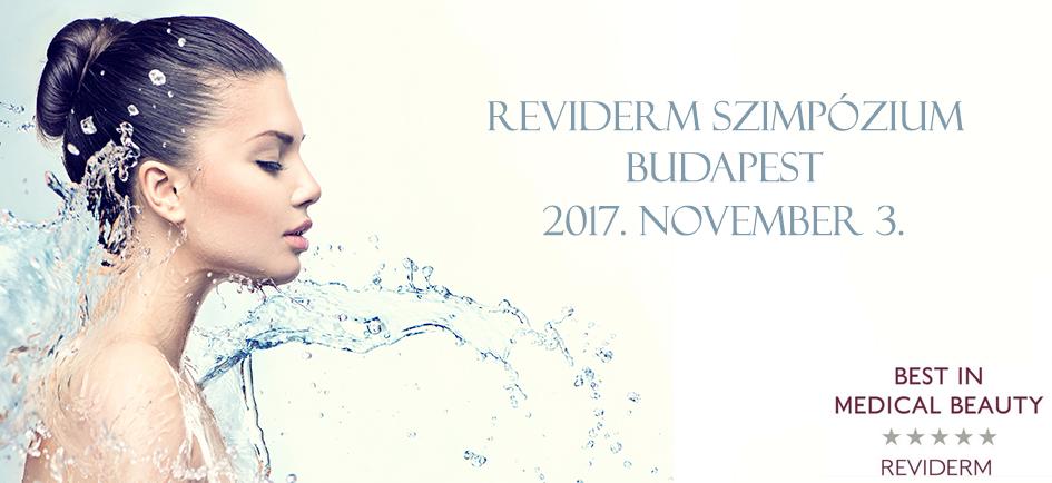 REVIDERM Szimpózium 2017.11.03.