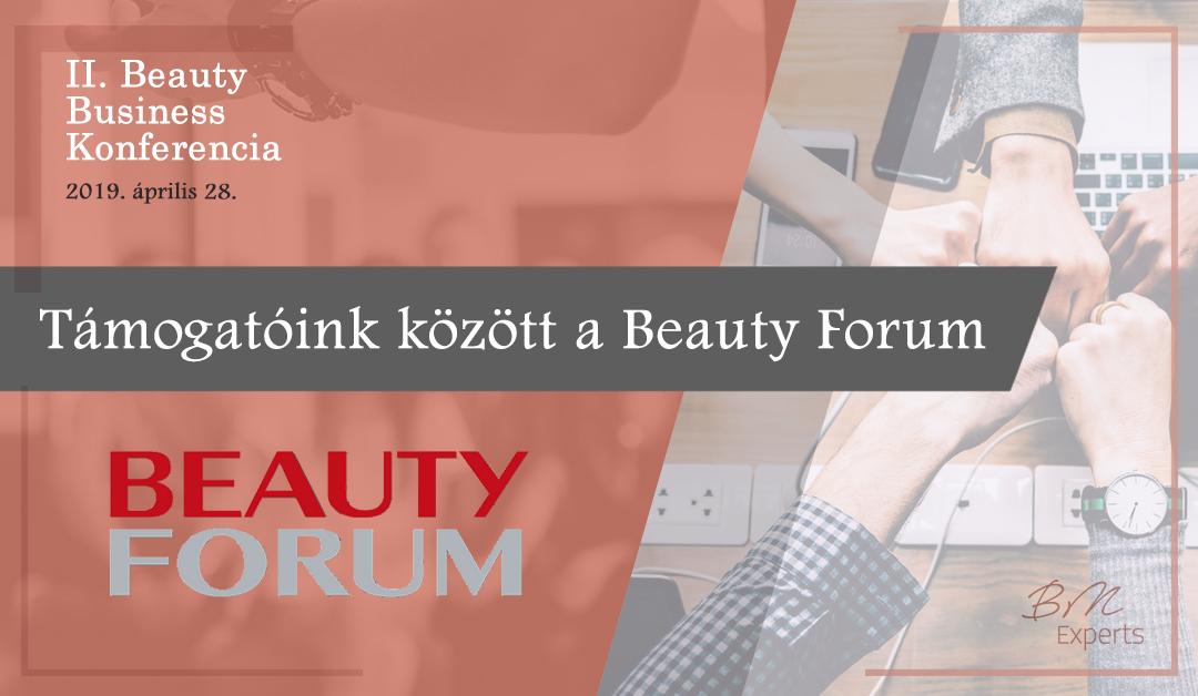 Támogatóink között a Beauty Forum