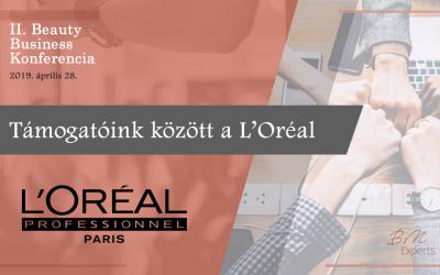 Támogatóink között a L'Oréal