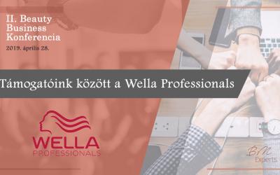 Támogatóink között a Wella Professionals