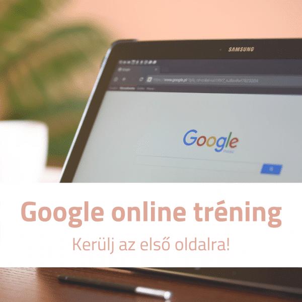 google tréning